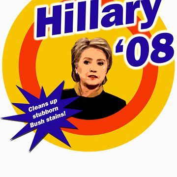 Hillary Clinton The White House Detergent by irregulargoods