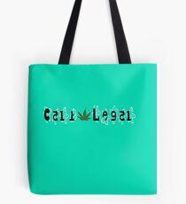 Cali-Legal Floral #1 Tote Bag