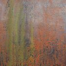 industrial metal rust and green by Boxzero