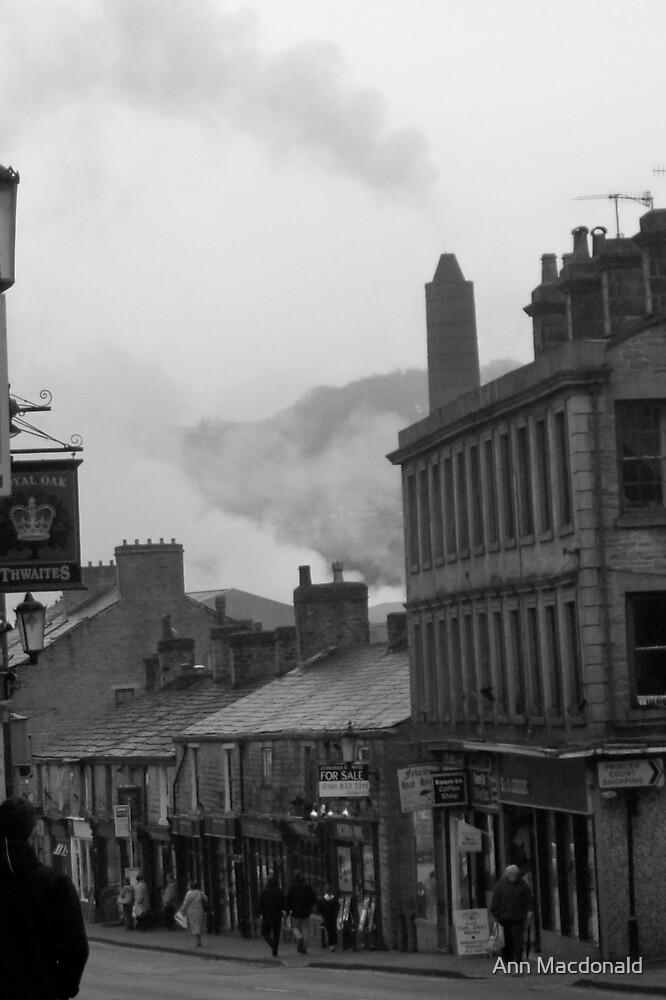Black white town by Ann Macdonald