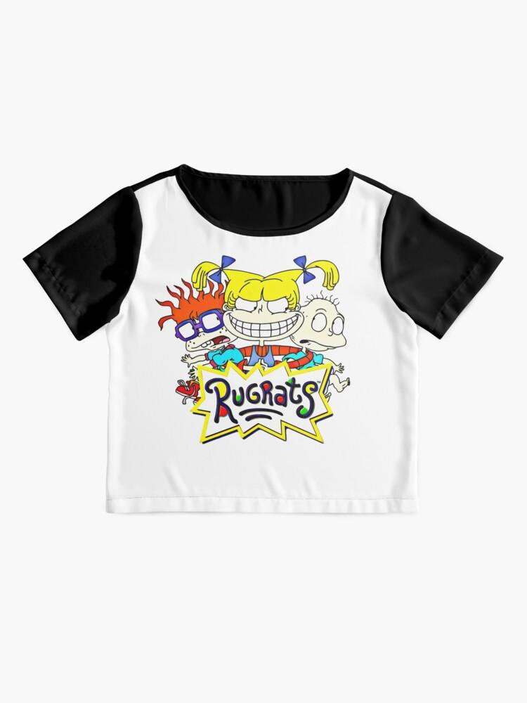 Alternative Ansicht von Die Rugrats, Tommy, Chuckie und Angelica Chiffon Top
