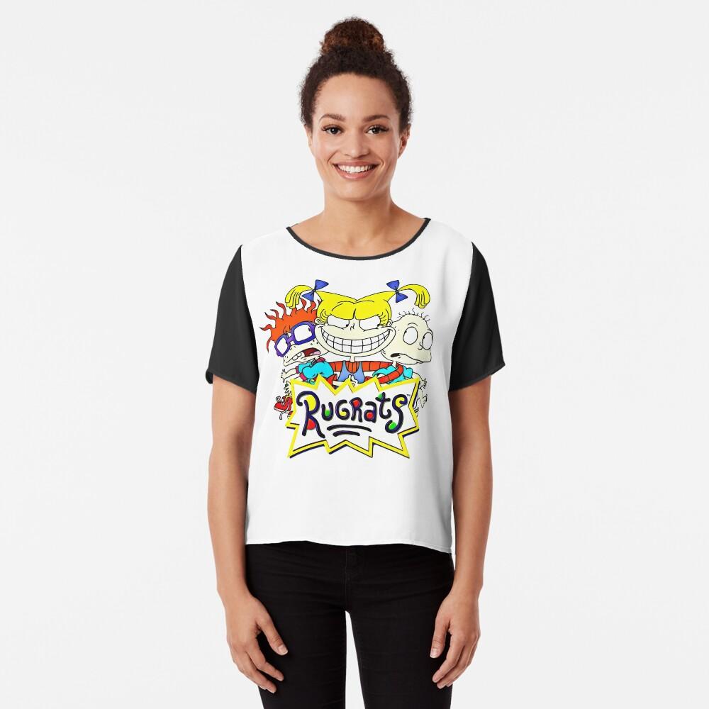 Die Rugrats, Tommy, Chuckie und Angelica Chiffon Top