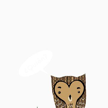 Quien? by AbernathyGreen