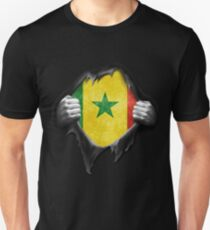 Senegal flag. Proud Senegalese T-Shirt