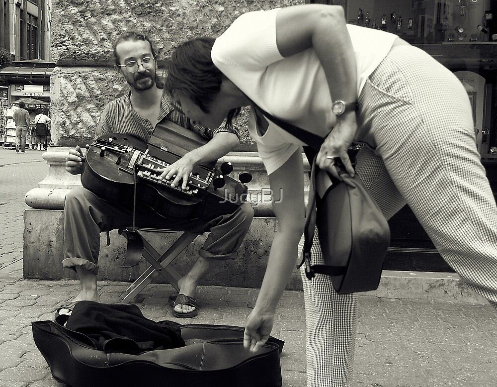 Young street performer by JudyBJ