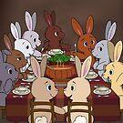 Pride Bunny Celebration by Catherine Dair