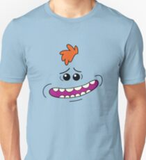 Rick and morty mr meeseeks face T-Shirt