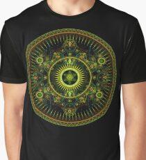 Metatron's Magick Wheel ~ Sacred Geometry Graphic T-Shirt