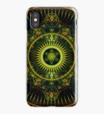Metatron's Magick Wheel ~ Sacred Geometry iPhone Case