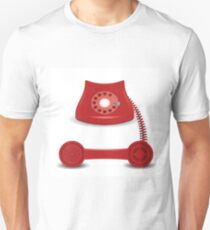 old red phone T-Shirt