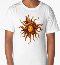 Sun Goddess . Long T-Shirt