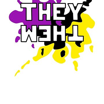 They Them - NonBinary Colors by INeroDevil