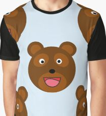 Brown bear Graphic T-Shirt