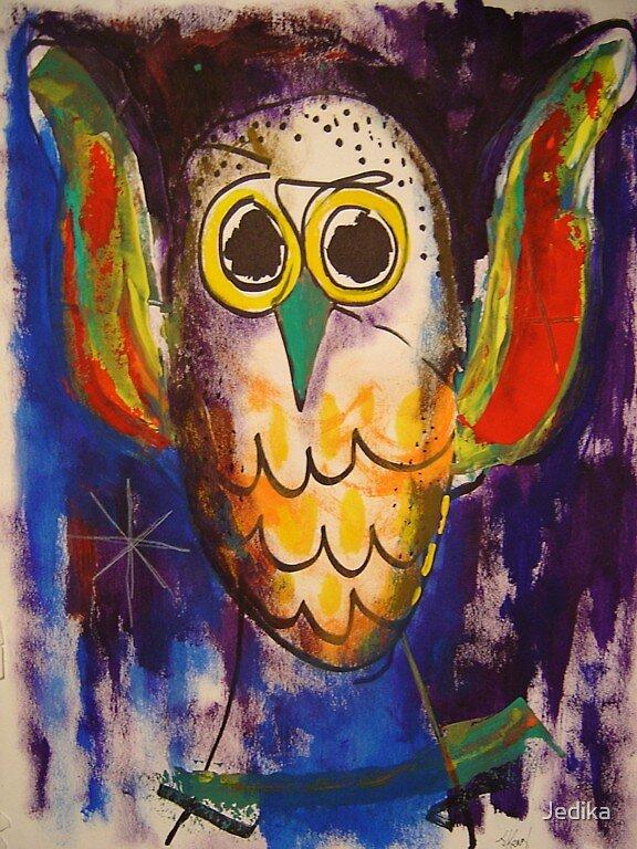 The Owl by Jedika