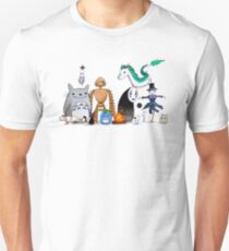 Ghibli Friends  Unisex T-Shirt