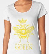 God Save the Queen 'Bee' Women's Premium T-Shirt