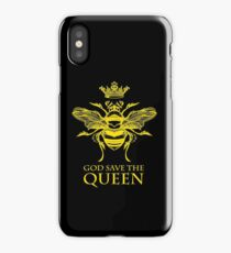 God Save the Queen 'Bee' iPhone Case/Skin