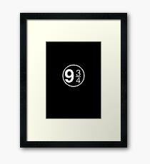 9 3/4 Framed Print