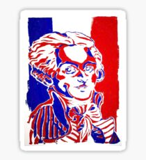 Robespierre French Revolution Print Sticker