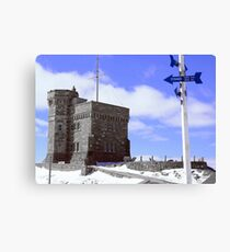 Titanic - Signal Hill Canvas Print