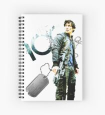 The 100 Bellamy/Forest/Dog Tag Spiral Notebook