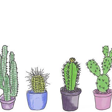 Cacti  by RockettMagic