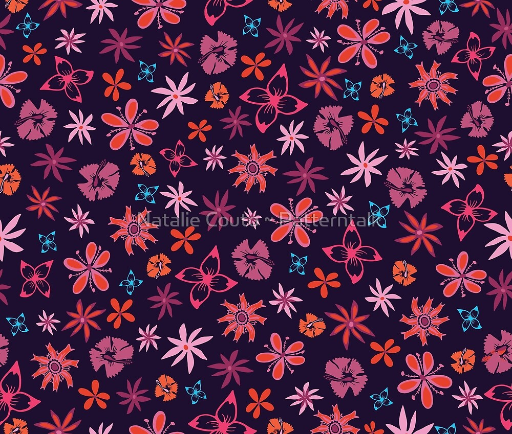Tropical Confetti by Natalie Couto