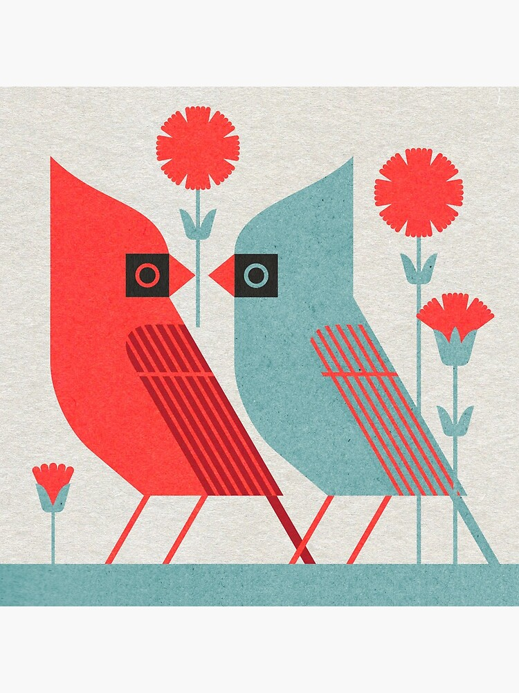 Cardinals and Carnations  by scottpartridge