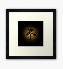 Joshua Tree Gold 30th Framed Print