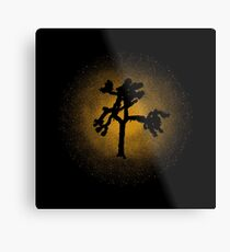 Joshua Tree Gold 30th Metal Print