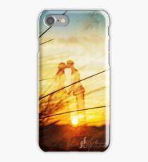Love forever au soleil levant iPhone Case/Skin
