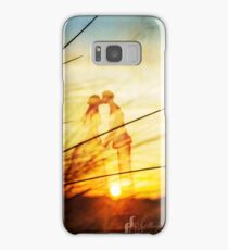 Love forever au soleil levant Samsung Galaxy Case/Skin