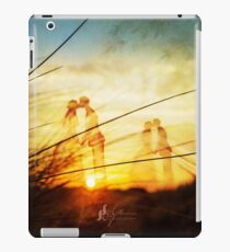 Love forever at the rising sun iPad Case/Skin