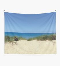Beachside On Lake Wall Tapestry