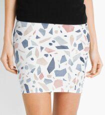 Terrazzo vintage pastel blue pink Mini Skirt