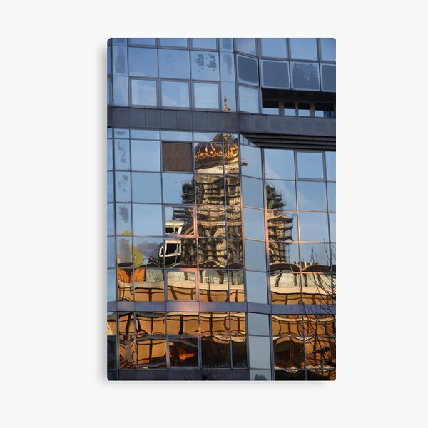 Imperfect Reflection Canvas Print