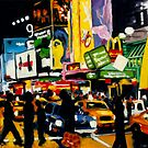 NYC Times Square II - The Temple of M by Robert Reeves
