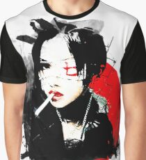 Japanese Punk Girl Graphic T-Shirt