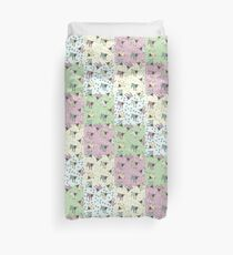 Pajama'd Baby Goats - Patchwork Duvet Cover