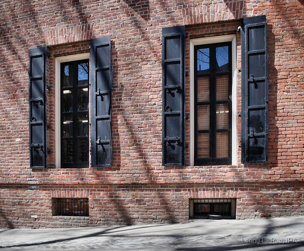 19th Century windows and walls by Lenny La Rue, IPA