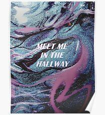 meet me in the hallway harry styles Poster