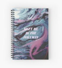 meet me in the hallway harry styles Spiral Notebook