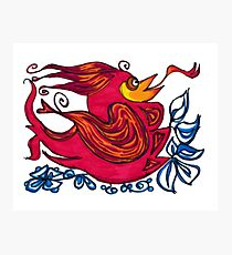 Firebird Photographic Print