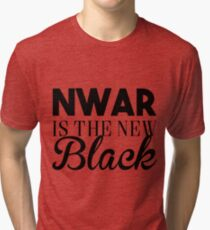 Nwar is the new black - damso Tri-blend T-Shirt