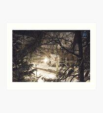 Snow Vision Art Print