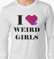 I <3 Weird Girls (Tentacle) Long Sleeve T-Shirt