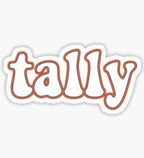 tally retro  Sticker