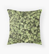 Weed Nuggs Throw Pillow