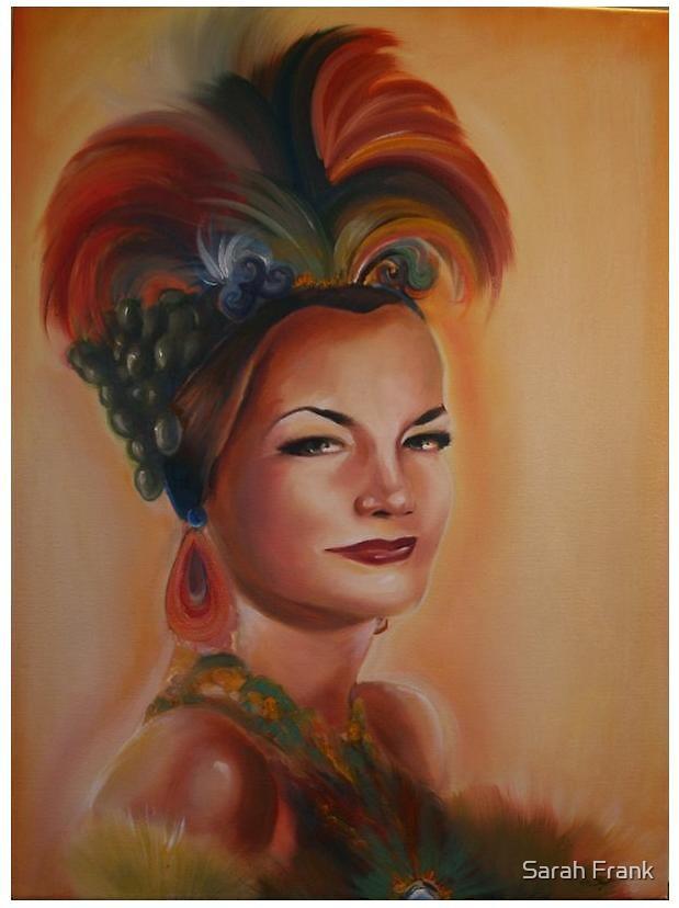 Carmen Miranda by Sarah Frank