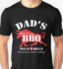 Dads World Famous BBQ Unisex T-Shirt